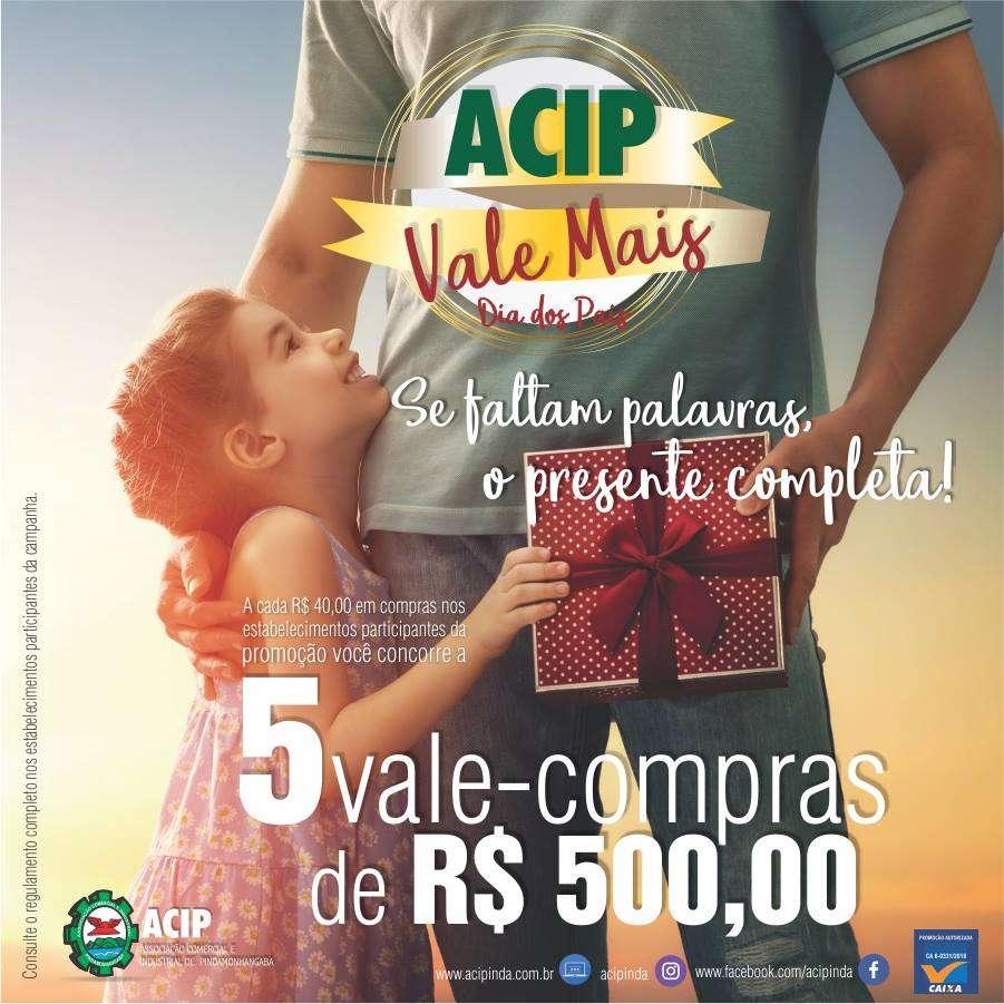 Campanha ACIP Vale Mais – Dia dos Pais