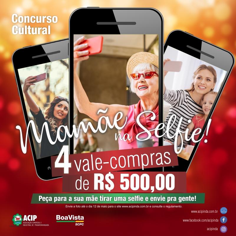 ACIP divulga ganhadoras do concurso cultural Mamãe na Selfie