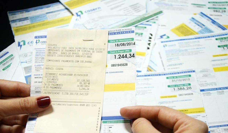 Por quanto tempo é necessário guardar comprovantes de contas pagas?