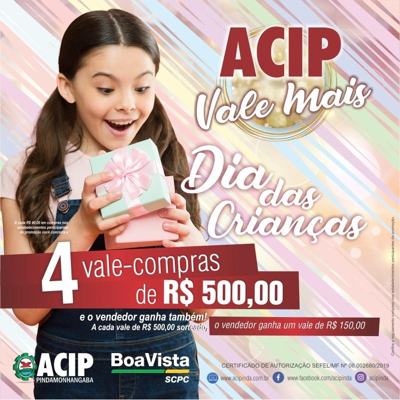 ACIP continua com promoção de Vale-compras