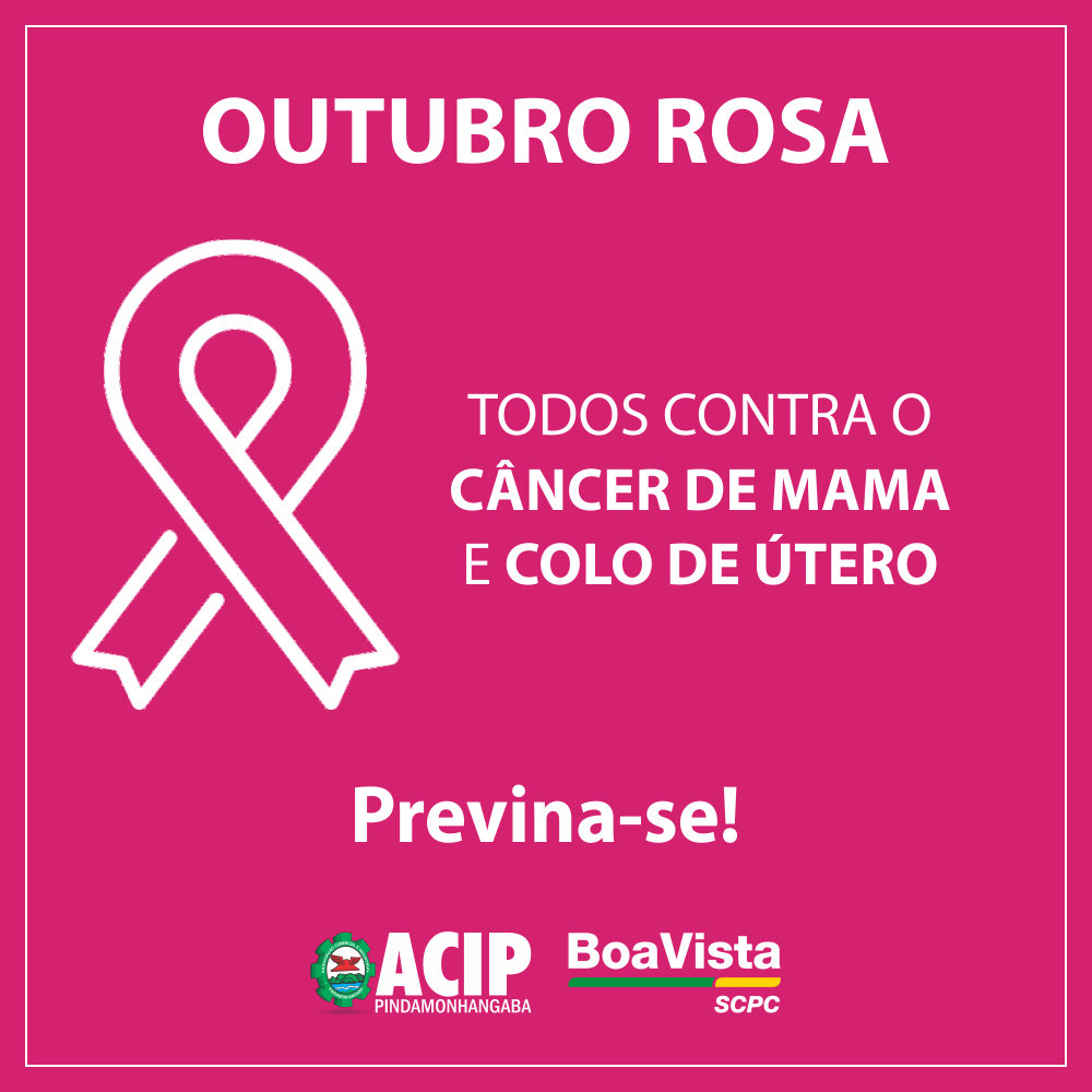 Outubro Rosa divulga a prevenção do câncer de mama