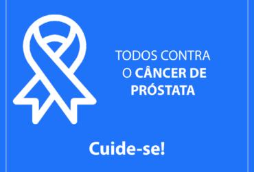 Novembro Azul  divulga prevenção ao câncer de próstata