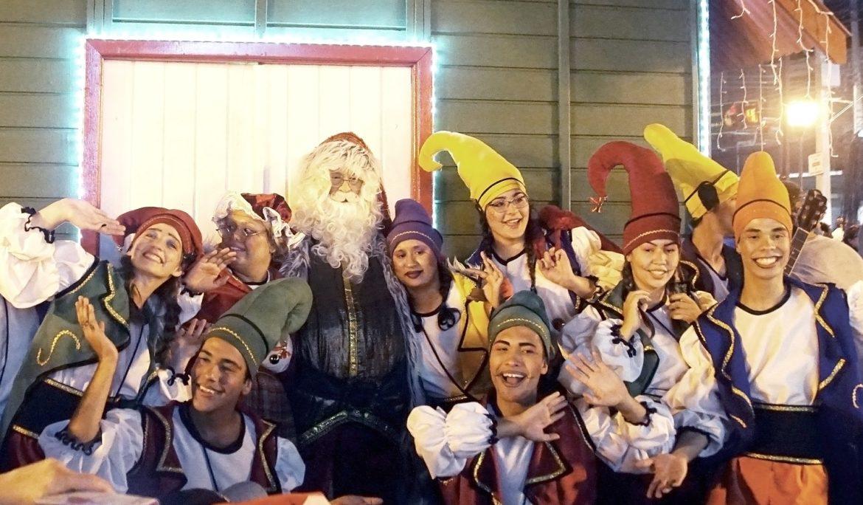 """Papai Noel chega no dia 28, abrindo """"Natal Encantado"""""""