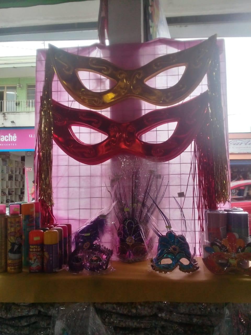 Comércio espera aumento de vendas para o carnaval