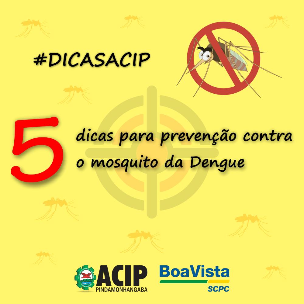 Dicas para Prevenção da Dengue