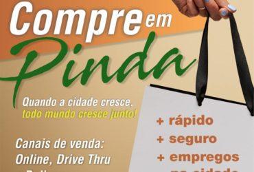 """Campanha  """"Compre em Pinda"""" incentiva compras no comércio local"""