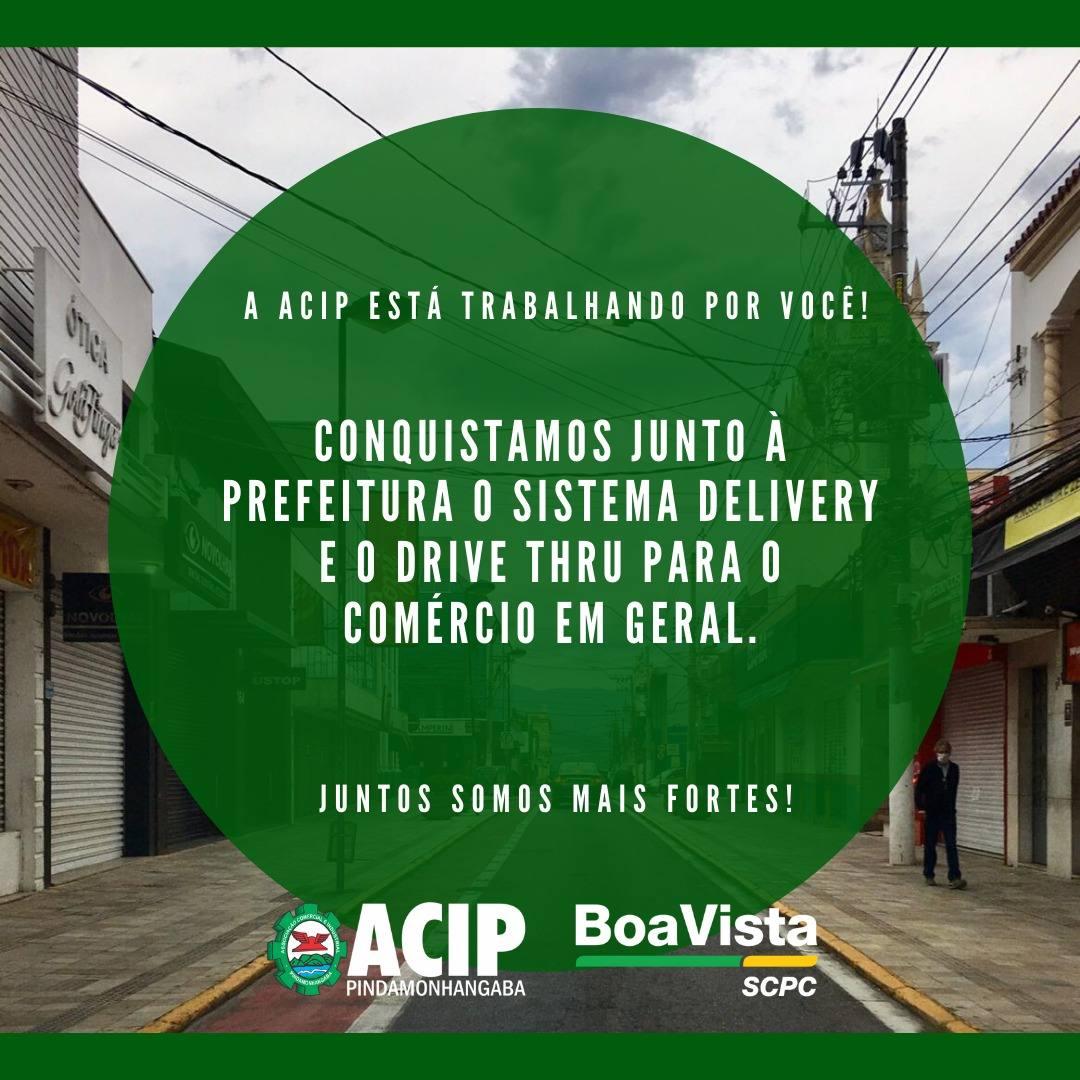 Prefeitura libera Drive Thru para comércio em geral a pedido da ACIP