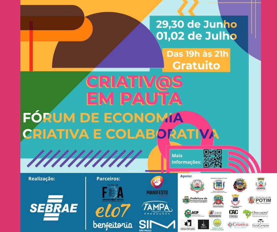 ACIP é parceira em Fórum de Economia Criativa