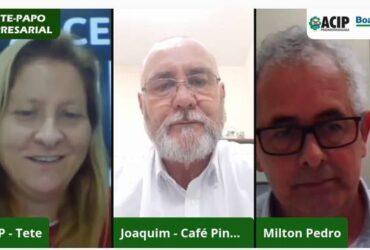 Empresários do ramo de alimentação falam sobre suas experiências no Bate-Papo Empresarial
