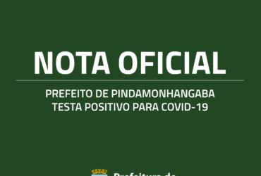 Prefeito de Pindamonhangaba testa positivo para Covid-19