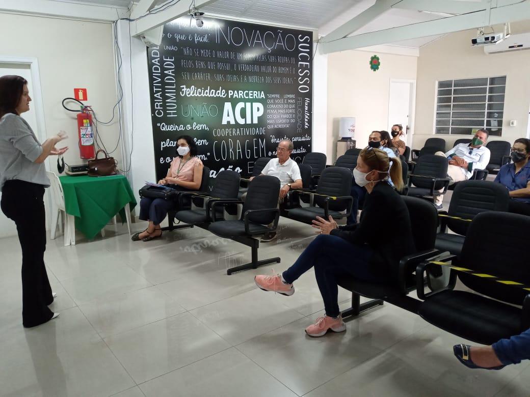 ACIP faz reunião com imobiliárias e vigilância sanitária