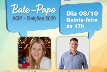 Eleições 2020 – Presidente da ACIP entrevista candidatos a prefeito